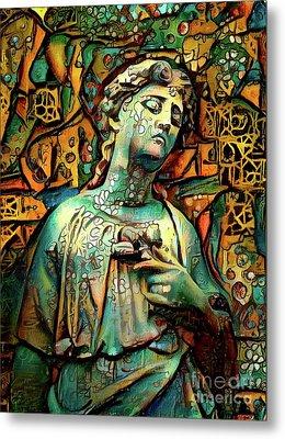 Sorrowful Angel 5 Metal Print