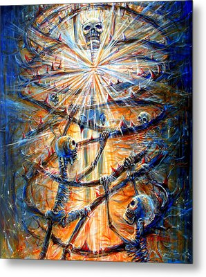 Metal Print featuring the painting Soul Evolution by Heather Calderon