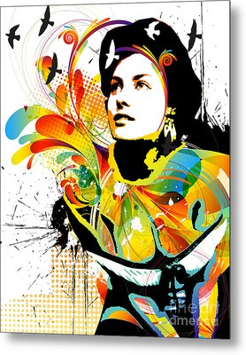Soul Explosion I Metal Print by Chris Andruskiewicz