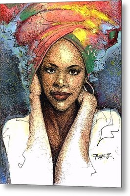 Soul Of A Woman   Metal Print by  Albert Fennell