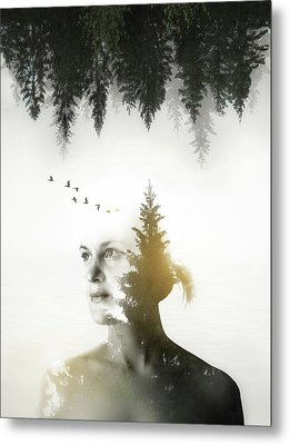 Metal Print featuring the photograph Soul Of Nature by Nicklas Gustafsson