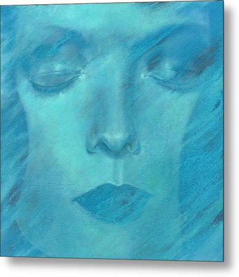 Metal Print featuring the painting Soul  by Ragen Mendenhall