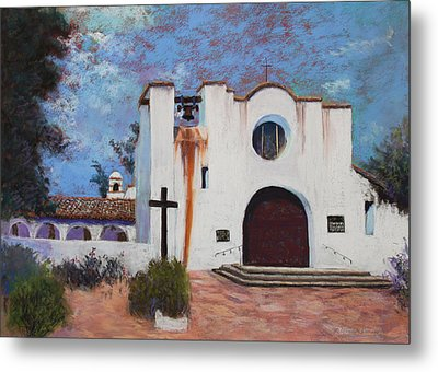 Metal Print featuring the painting Soul Retreat by M Diane Bonaparte