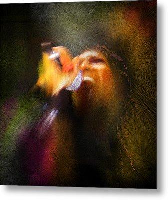 Soul Scream Metal Print by Miki De Goodaboom