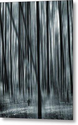 Soul Searching Metal Print by Lourry Legarde