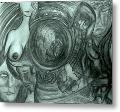 Soul Sleeper Metal Print by Richard  Hubal