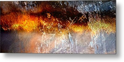 Soul Wave - Abstract Art Metal Print by Jaison Cianelli