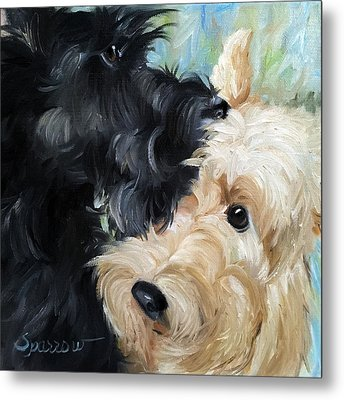 Soulmates Metal Print by Mary Sparrow