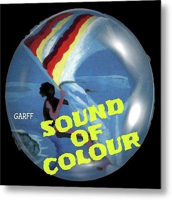Sound Of Colour Metal Print