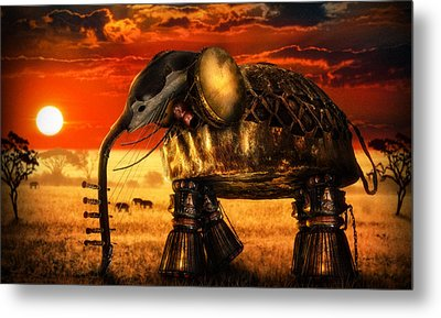Sounds Of Cultures Metal Print by Alessandro Della Pietra