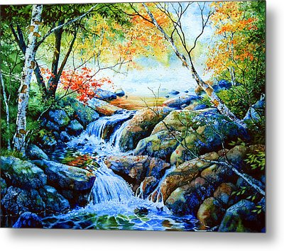 Sounds Of Silence Metal Print by Hanne Lore Koehler