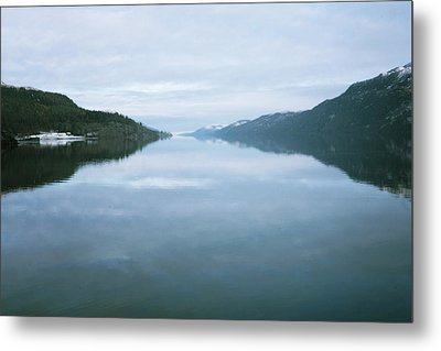 Soundtrack- Loch Ness Shore Metal Print by Cambion Art