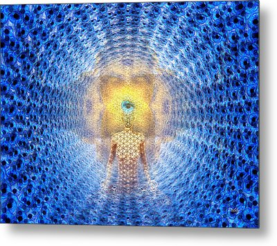 Source For Joe Metal Print by Robby Donaghey