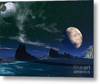 South Atlantic Ocean 2 Metal Print
