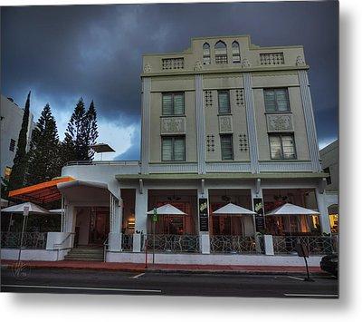 South Beach - The Stiles Hotel 001 Metal Print by Lance Vaughn