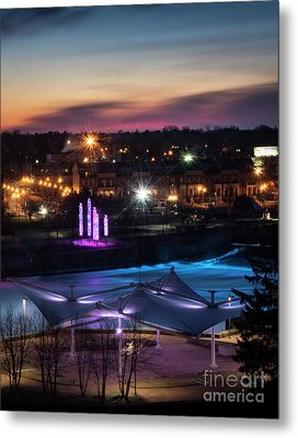 Metal Print featuring the photograph South Bend River Sunrise by Brian Jones