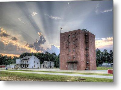 South Carolina Fire Academy Tower Metal Print by Dustin K Ryan