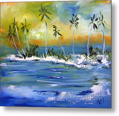 South Pacific Metal Print by Patricia Taylor