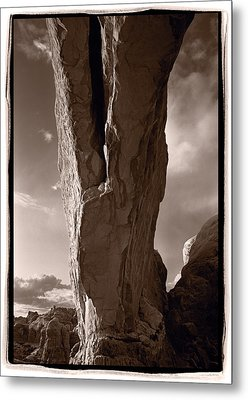 South Window Arch Arches National Park Metal Print by Steve Gadomski