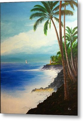 Metal Print featuring the painting Southern Breeze by Mike Ivey