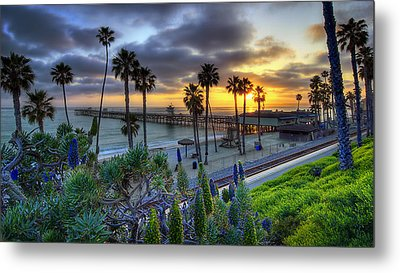 Southern California Sunset Metal Print