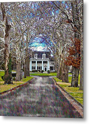 Southern Gothic Metal Print by Bill Cannon