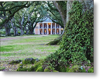 Southern Manor Home Metal Print by Jeremy Woodhouse