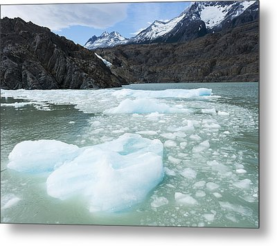 Southern Patagonian Ice Field  Torres Metal Print by Keith Levit
