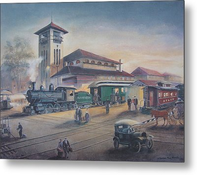 Southern Railway Metal Print by Charles Roy Smith