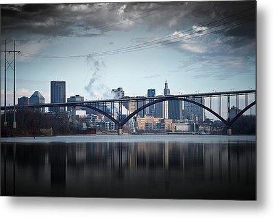 Southside And The High Bridge Metal Print by Matthew Blum