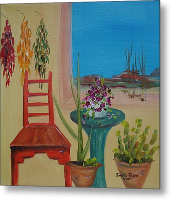 Metal Print featuring the painting Southwestern 6 by Judith Rhue