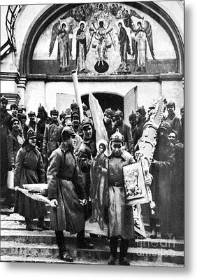 Soviet Anti-religion Policy Metal Print by Granger