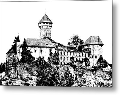 Sovinec - Castle Of The Holy Order Metal Print by Michal Boubin