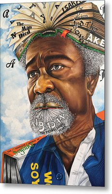 Soyinka An African Literary Icon Metal Print