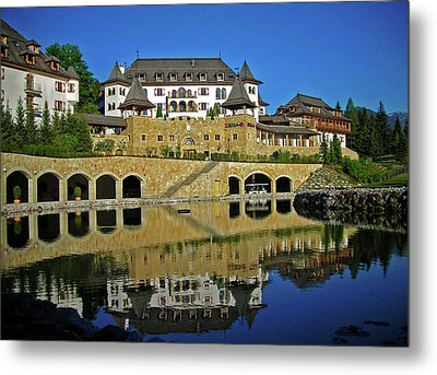 Spa Resort A-rosa - Kitzbuehel Metal Print by Juergen Weiss