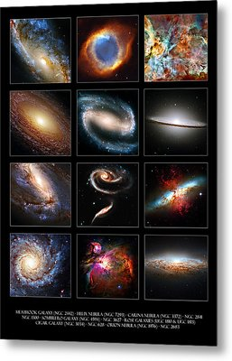 Space Beauties Metal Print by Ricky Barnard
