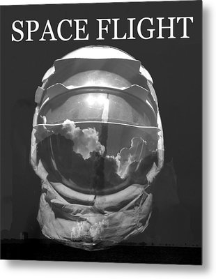 Metal Print featuring the photograph Space Flight by David Lee Thompson