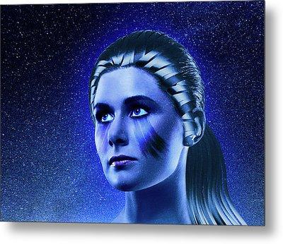 Space Odyssey Metal Print by Scott Meyer