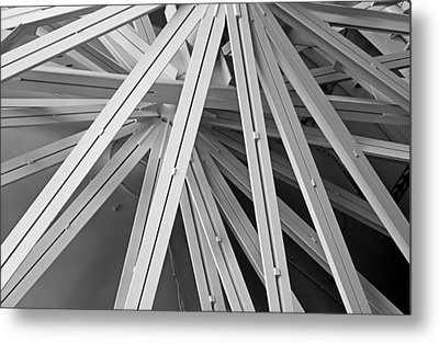 Space Station Abstract Metal Print