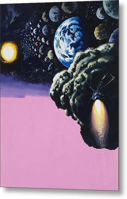 Space Metal Print by Wilf Hardy
