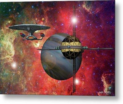 Spaceliner Opulence Metal Print by James C Jones II