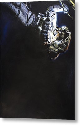 Spacewalk 1  Metal Print by Simon Kregar