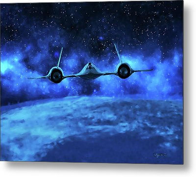 Spaceward Metal Print