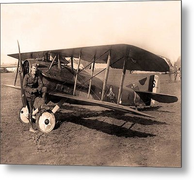 French Spad Xiii 1918 Metal Print
