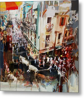 Spanish Culture 11 Metal Print by Corporate Art Task Force
