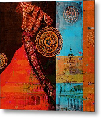 Spanish Culture 21b Metal Print by Corporate Art Task Force