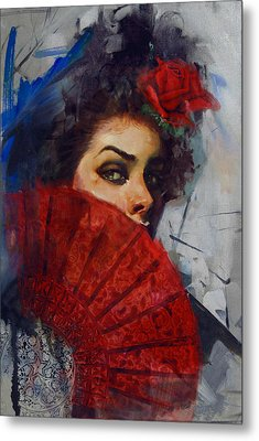 Spanish Culture 28b Metal Print by Corporate Art Task Force