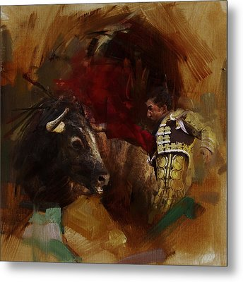 Spanish Culture 7 Metal Print by Corporate Art Task Force
