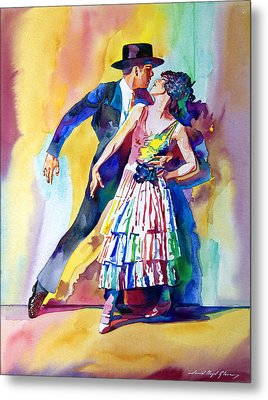 Spanish Dance Metal Print by David Lloyd Glover