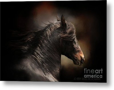 Spanish Stallion Metal Print